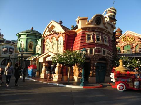 Mickey's Toontown Area