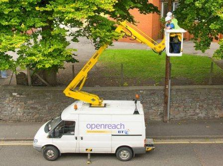 Ofcom asks BT to open up its broadband infrastructure to rivals
