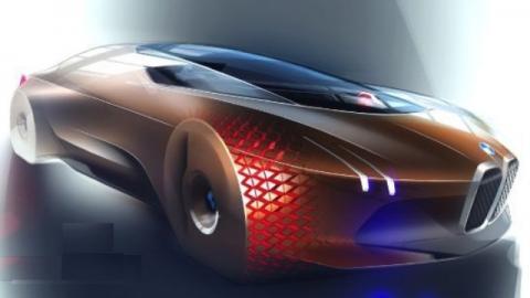 BMW introduces Vision Next 100 concept